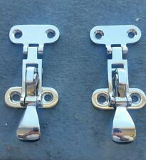 Rat rod hot rod hood ,trunk or tailgate stainless steel latches.