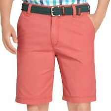 IZOD Saltwater Flat-Front Shorts Saltwater Red 33