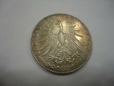 Germany Frankfurt 1852 2 Gulden KM 333  Scarce