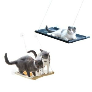 Sunny Seat Window Cat Hammock, Perch Mounted Cats Bed, Holds Up To 40lbs New