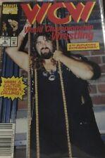 WCW World Championship Wrestling #6 G Marvel Comics 1992 Mankind Cover Rare