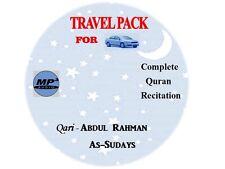 Al Quran CD-MP3 -Qari -Abdulrahaman As Sudais (it Works Only On  MP3 Players)