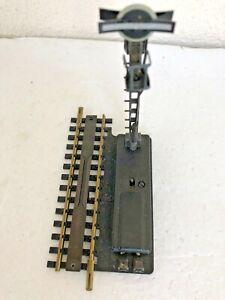 Fleischmann 17002 elektr. Entkupplungsgleis mit Signal s.Fotos, funktionsgeprüft
