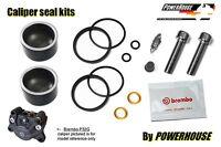 Aprilia Brembo P32 G rear brake caliper piston & seal repair rebuild kit set