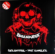 décharge – Decontrol - THE SINGLES lot de 2 LP ROUGE VINYLE GATEFOLD NEUF re (
