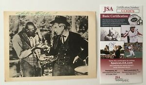 Stepin Fetchit Lincoln Perry Signed Autographed 4.25 x 5.5 Photo JSA Certified