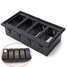 4 Gang Rocker Switch Clip Panel Patrol Holder Housing For ARB Carling Style AU