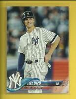 Greg Bird 2018 Topps Series 2 Card # 515 New York Yankees Baseball MLB 1B