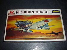 HASEGAWA  MITSUBISHI ZERO FIGHTER  PLASTIC MODEL 1/72