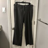 The Limited Cassidy Fit Pants Dress Dark Gray Sz 10