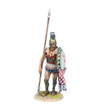 AG060 Greek Hoplite Standing with Dory and Shield Curtain by First Legion