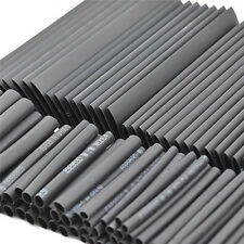 127Pcs Black Glue Waterproof Heat Shrink Sleeving Tubing Tube Assortment Kit G