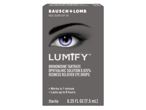 Lumify Redness Reliever Eye Drops 0.25 oz (7.5ml) BRAND NEW>FREE SHIPPING!