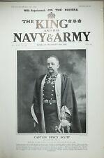 1903 Imprimé Captain Percy Scott Doctor Of Law