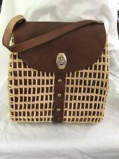 New listing vintage straw purse handbag