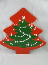 Christmas Tree Shaped Trivet Waechtersbach German Stoneware NEW