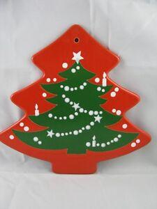 Christmas Tree Shaped Trivet Waechtersbach German Stoneware NEW