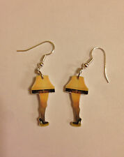 Leg Lamp Earrings Christmas Story Charms Humor Fun Charms