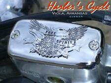 Yamaha Roadstar XV 1600 & 1700 - Free Spirit CHROME Master Cylinder CAP/LID