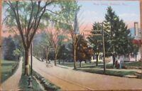 1907 Postcard - Main Street - Amherst, Massachusetts MA