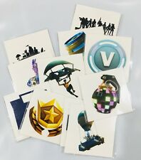 11 FORTNITE Inspired Temporary Tattoos Party Supplies Birthday Party Favors