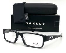 OAKLEY AIRDROP OX8046-1453 Stain Gray Black / Demo Lens 53mm Eyeglasses