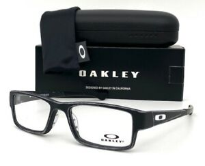 OAKLEY AIRDROP OX8046-1453 Stain Gray Black / Demo Lens 53mm Eyeglasses