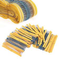 30 Values 1/4W 1% Metal Film Resistors Resistance Assortment Kit Set 300PCS/Pack