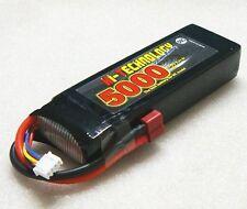 "Batterie LiPo 11,1v 5000mAh 50C (60C Boost) Li-Po""TRÈS PUISSANTE"" 133x43x24mm"