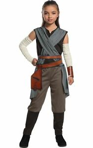 Girls Rey Costume Star Wars The Last Jedi Costume Child Fancy Dress Outfit