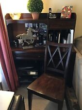 Haverty's Yorkston Desk and Credenza with Matching Chair