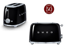 Smeg Grille-pain 2 Tranches Rose 950w Tsf01 Tsf01pkeu