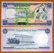 Syria, 25 pounds, 1991, P-102 (102e), UNC