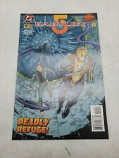 Babylon 5 Deadly Refuge Laser Mirror Dc Comics November 1995 Issue 10 l2e5