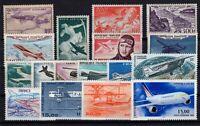 S138468/ FRANCE – AIRMAIL / LOT 1934 - 1999 MINT MNH CV 175 $