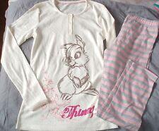 pyjama coton  neuf  taille 11-12  ans disney panpan couleur creme rose