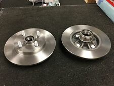 TOYOTA STARLET GLANZA EP82 EP91TURBO BRAKE DISC PAIR NEW REAR WITH ABS