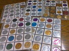 MARDI GRAS DOUBLOON LOUISIANA COIN COINS TOKEN TOKENS COLLECTION LOT # 2