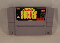 World League Soccer NTSC Cart Only Super Nintendo SNES
