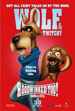 HOODWINKED TOO! HOOD VS. EVIL Movie POSTER 27x40 Hayden Panettiere Joan Cusack