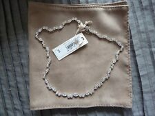 NEW WITH BOX - JENNY PACKHAM JEWELLERY - SILVER AND DIAMANTE RRP £90 - WEDDING