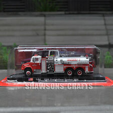 DIECAST 1:64 1999 FREIGHTLINER TANKER USA PUMPER MODEL FIRE TRUCK REPLICA