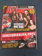 Metal Hammer 1/2006 MOTORHEAD SYSTEM OF A DOWN VISUAL KEI TARJA TURUNEN