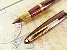 Carmine Red Standard Size Sheaffer Vacuum Fill Fountain Pen