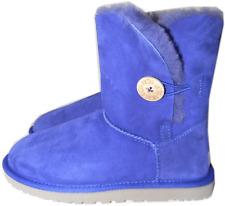 UGG Australia Bailey Button Short Boot Fur Lined Bootie Shoe 8-39 Purple SALE