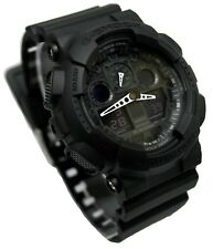 Casio Watch , G Shock , LED light , 5 Alarms , Timer, GA-100-1A1ER  , Brand New