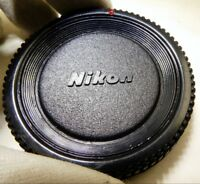 Red Dot Dust Body Cap Cover for NIKON FE FM FM10 D3200 D3100 D3300 Cameras