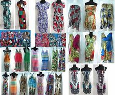 US SELLER-lot of 10 Wholesale Summer Dresses shop women hippie wear