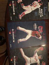 Atlanta Braves SGA - Ronald Acuna Mike Soroka Freddie Freeman A S Poster Set