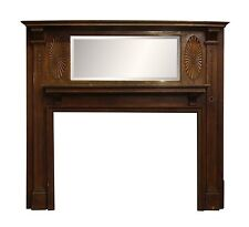 Federal Wood Mantel with Medallions
